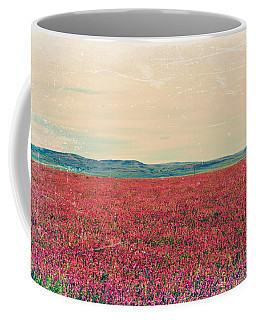Fields Of Heaven Coffee Mug by Leanna Lomanski