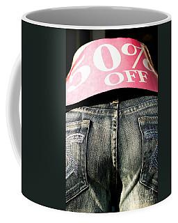 Fifty Percent Off Coffee Mug