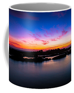 Figures To Sunset Coffee Mug