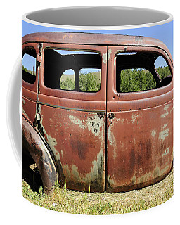 Coffee Mug featuring the photograph Final Destination by Fran Riley