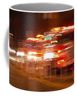 Fire Truck Coffee Mug by Micah May