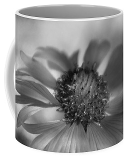 Coffee Mug featuring the photograph Firewheel In Mono by Vicki Pelham