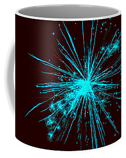 Fireworks Abstract 2 Coffee Mug by Tom Bush IV