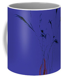 Fireworks Abstract 3 Coffee Mug by Tom Bush IV