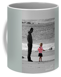 Coffee Mug featuring the photograph Fish With Me Daddy by Terri Waters
