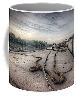 Flatboat Takeoff Coffee Mug