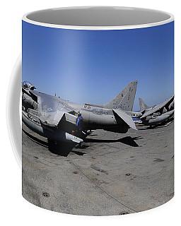 Flight Deck Personnel Reposition Av-8b Coffee Mug