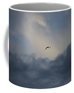 Coffee Mug featuring the photograph Flight To Heaven by Penny Meyers