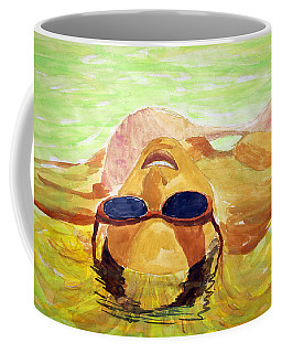Floating In Water Coffee Mug by Brian Wallace