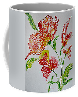 Coffee Mug featuring the painting Florals by Sonali Gangane