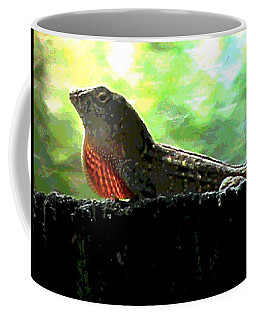 Coffee Mug featuring the photograph Florida Dinosaur by George Pedro
