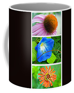 Flower Collage Part Two Coffee Mug