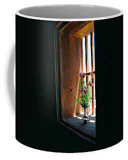 Flower In Window Coffee Mug