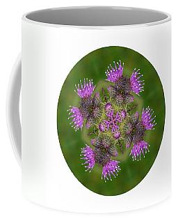 Coffee Mug featuring the photograph Flower Of Scotland by Lynn Bolt