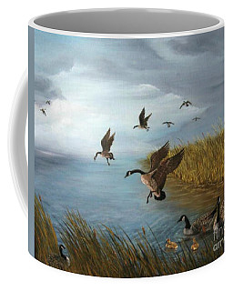 Flying Geese Coffee Mug