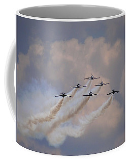 Flying In Formation Coffee Mug by Julia Wilcox