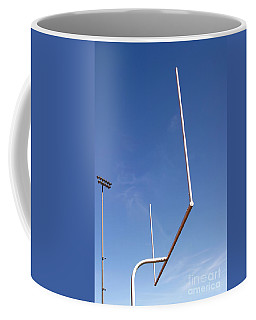 Coffee Mug featuring the photograph Football Goal by Henrik Lehnerer