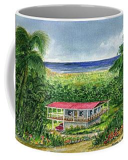 Foothills Of El Yunque Puerto Rico Coffee Mug by Frank Hunter