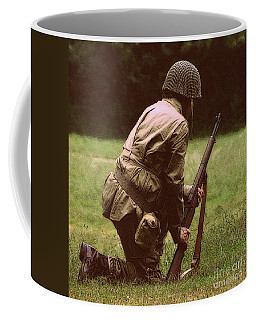 Coffee Mug featuring the photograph For Freedom by Lydia Holly