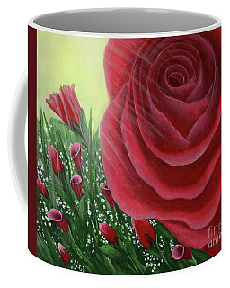 For The Love Of Roses Coffee Mug