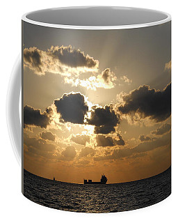 Coffee Mug featuring the photograph Fort Lauderdale Sunrise by Clara Sue Beym