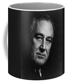 Coffee Mug featuring the photograph Franklin Delano Roosevelt  - President Of The United States Of America by International  Images