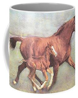 Free And Fleet As The Wind Coffee Mug