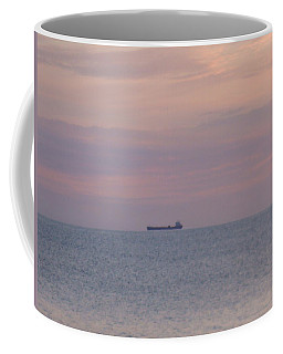 Coffee Mug featuring the photograph Freighter by Bonfire Photography