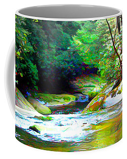 French Broad River Filtered Coffee Mug