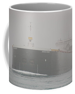 Frieghter Close Up Coffee Mug