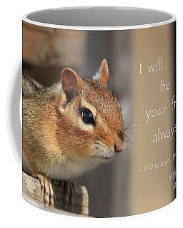 Friend For Peanuts Coffee Mug by Cathy  Beharriell