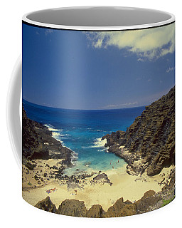 From Here To Eternity Beach Coffee Mug