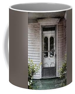 Front Door Of Vintage House Coffee Mug