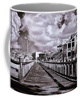 Front Street Boardwalk - Infrared Coffee Mug