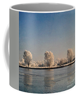 Frozen Lake Coffee Mug by Lyn Randle