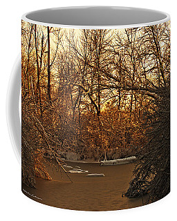 Frozen Pond Coffee Mug