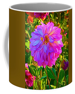 Coffee Mug featuring the photograph Fuchsia Delight by Ken Stanback
