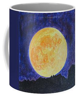 Coffee Mug featuring the painting Full Moon by Sonali Gangane