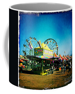 Coffee Mug featuring the photograph Fun At The Fair by Nina Prommer
