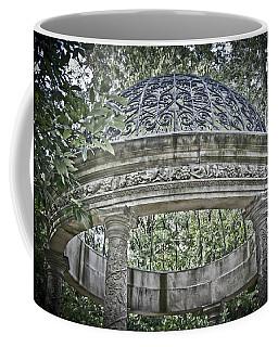 Gazebo At Longwood Gardens Coffee Mug