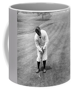 Coffee Mug featuring the photograph Gene Sarazen Playing Golf by International  Images