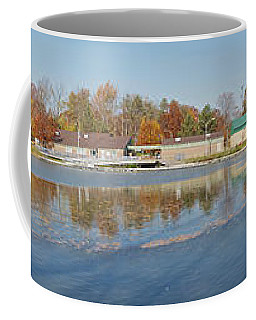 Coffee Mug featuring the photograph Genesee River Panorama by William Norton