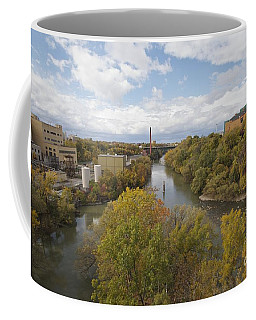 Coffee Mug featuring the photograph Genesee River by William Norton