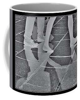 Coffee Mug featuring the digital art Ghost Walkers by Victoria Harrington