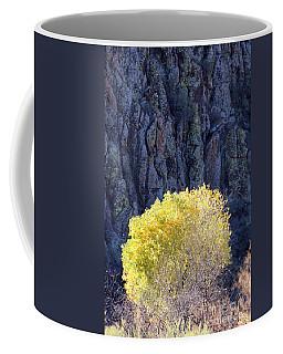 Gilded Autumn Coffee Mug