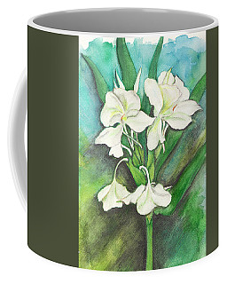 Ginger Lilies Coffee Mug by Carla Parris
