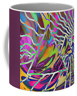 Coffee Mug featuring the mixed media Giza by Kevin Caudill