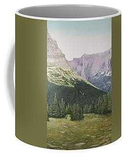 Glacier National Park Montana Coffee Mug