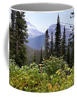 Glacier Scenery Coffee Mug