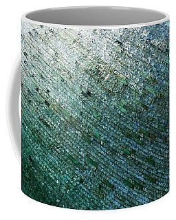 Glass Strata Coffee Mug